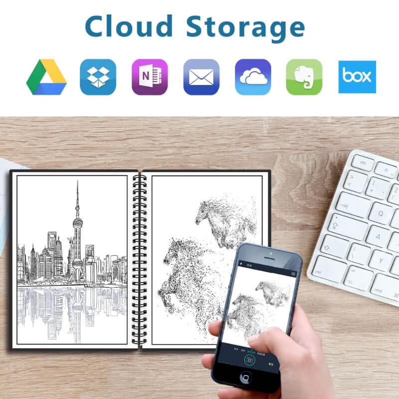 A6 Smart Reusable Notebook Image 2